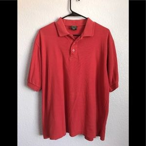 Vintage Red Nike Polo Size M